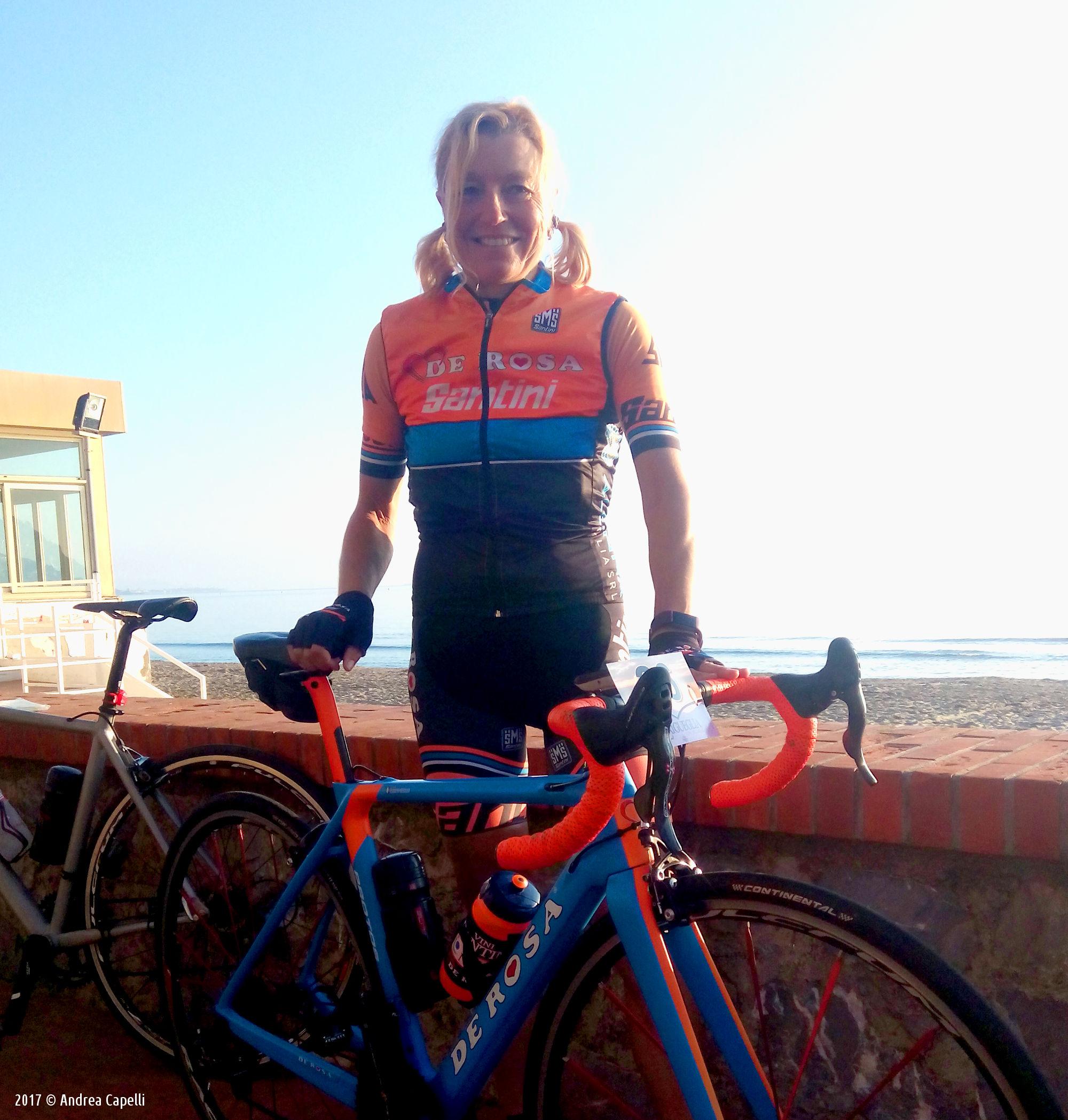 Olga Cappiello Laigueglia Rosa - Team De Rosa Santini
